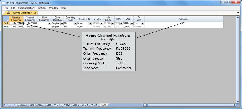 RT Systems TM-V71 Radio Programming Software